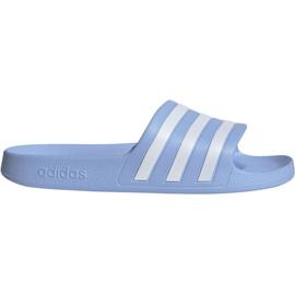 Modrý Pantofle Adidas Adilette Aqua W EE7346