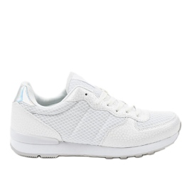 Bílá pánská sportovní obuv 5535A-1