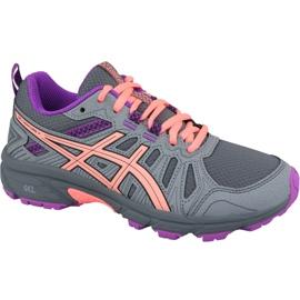 Šedá Běžecká obuv Asics Gel-Venture 7 Gs Jr 1014A072-020
