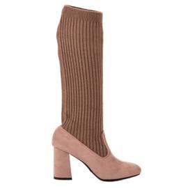 Seastar hnědý Montované hnědé boty