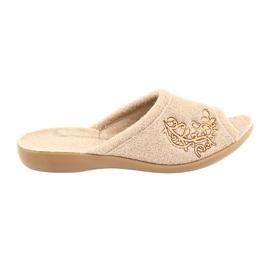 Hnědý Befado dámské boty pu 256D013