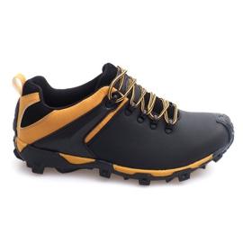 Trekingové boty Kůže Nat HLD911 Černá