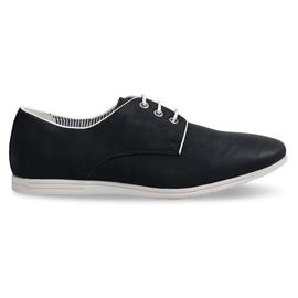 Klasická obuv Casual 1631 Černá