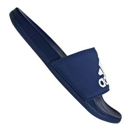 Pantofle Adidas Adilette Comfort Plus M B44870 modrý