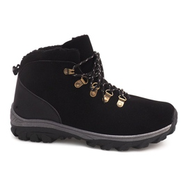 Izolované sněhové boty 83B Černá