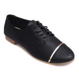 Černá Openwork Jazz dámské nízké boty 6-154 černé