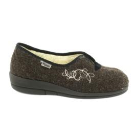 Hnědý Dámské boty Befado pu 940D356