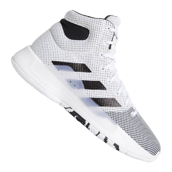 Boty Adidas Pro Bounce Madness 2019 M BB9235 bílá bílá