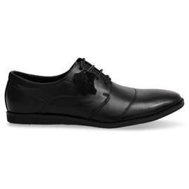 Černá Dámská kožená obuv LJ41 Black