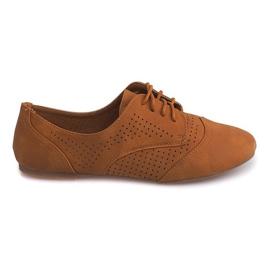 Hnědý Openwork Jazzové boty nízké 219 velblouda