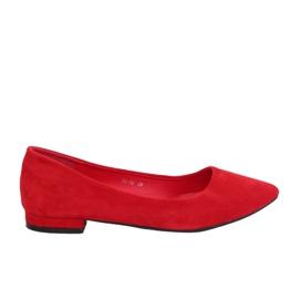 Baletky s mandlovými prsty červené RC-76 Red červená
