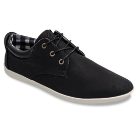 Stylová obuv B01 Černá