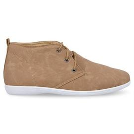 Hnědý Vysoce elegantní boty 3569 Camel