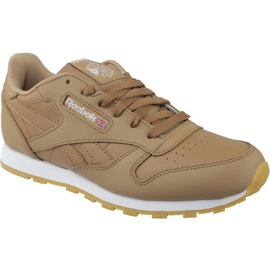 Obuv Reebok Classic Leather Jr CN5610 hnědý