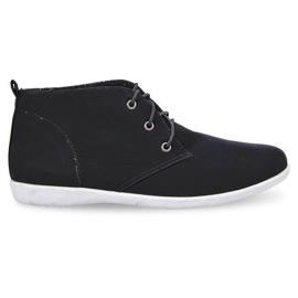 Vysoce elegantní obuv 3569 Černá