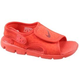 Červená Sandály Nike Sunray Adjust 4 Ps Jr 386518-603