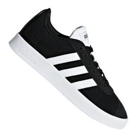Černá Obuv Adidas Vl Court 2.0 Jr DB1827