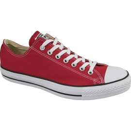 Converse C. Taylor All Star Ox Optical Red M M9696 boty červená