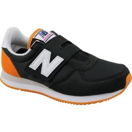 New Balance černá Nová obuv Balance Jr PV220BKO