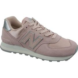 New Balance růžový Nová obuv Balance ve WL574OPS