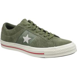 Zelená Converse One Star Shoes 163198C green