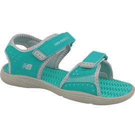 Zelená Sandály New Balance Jr K2004GRG modré