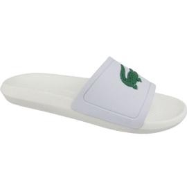 Pantofle Lacoste Croco Slide 119 1 M 737CMA0018082 bílá