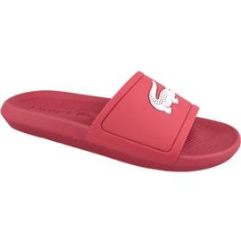 Pantofle Lacoste Croco Slide 119 1 M 737CMA001817K červená