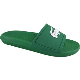 Pantofle Lacoste Croco Slide 119 1 M 737CMA00181R7 zelená