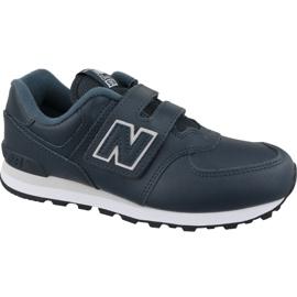 New Balance Nová Balance YV574ERV Jr boty navy blue