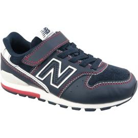 Černá New Balance Jr YV996BB boty černé