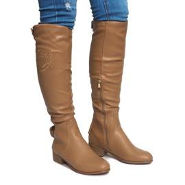 Hnědý Vysoce izolované boty X453-14 Béžová