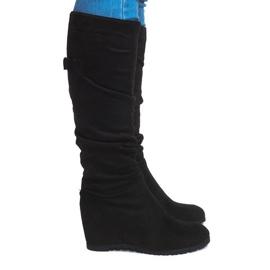 Boty Saszki Boots CN851 Černá
