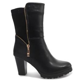 Černá Černé boty FR59 Černé