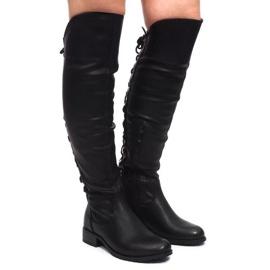 Elegantní boty F103 Černá