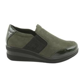 Klínová obuv Sergio Leone 225 olivová