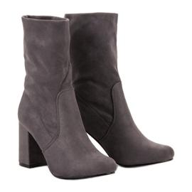 Super Mode Kotníkové kotníkové boty šedá