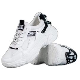 SHELOVET bílá Pohodlné sportovní boty