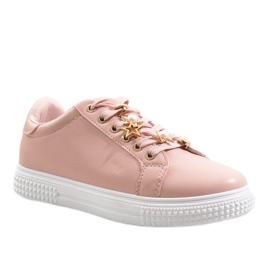 Růžový Růžové tenisky BM1958