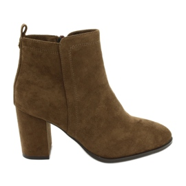 Hnědý Velbloudí boty Sergio Leone 520