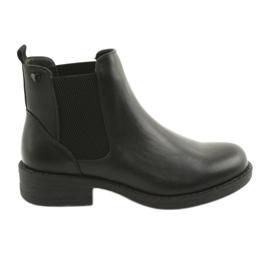 Černé boty Sergio Leone 552 černá