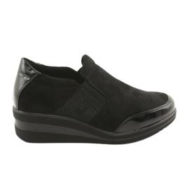 Černé boty na klínu Sergio Leone 225 černá