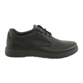 Černá Pánské svázané boty Riko 902