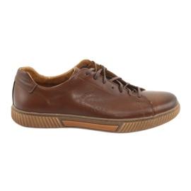 Hnědý Riko 893 hnědá sportovní obuv