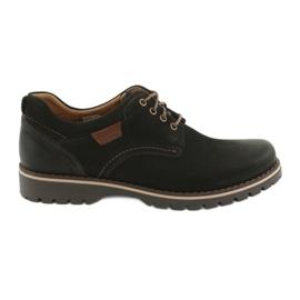 Černá Pánské boty Riko 858 černé