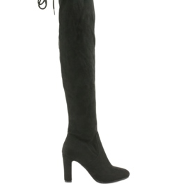 Černá Kotníkové boty Filippo 996 černé