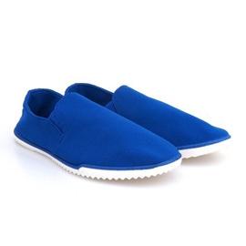 Modrý Slip-on Sneakers Lycra 8527 Blue