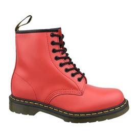 Červená Dr. boty Martens 1460W 24614636