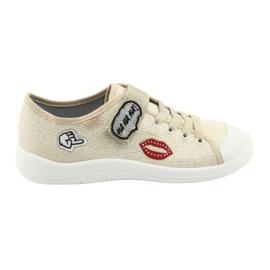 Žlutý Befado dětské boty 251Q098