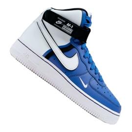 Obuv Nike Air Force 1 High LV8 2 Jr CI2164-400 bílá-modrá